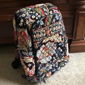 Vera Bradley Retired Versailles Pattern Backpack